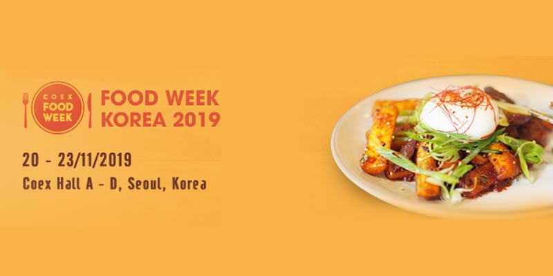 چهاردهمين نمايشگاه بين المللي مواد غذايي کره 2019